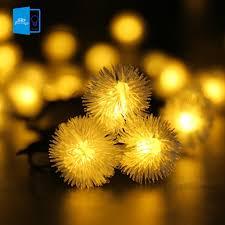 popular outdoor snowball lights buy cheap outdoor snowball lights outdoor solar led string light 6m 30 led snowball decorative lights waterproof fairy garden outdoor christmas