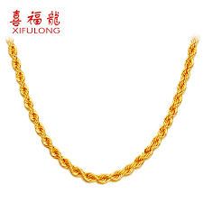 ladies gold necklace images National day specials xifulong gold necklace for men and women jpg