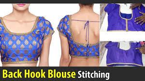 back hook back hook blouse stitching class back open blouse back button