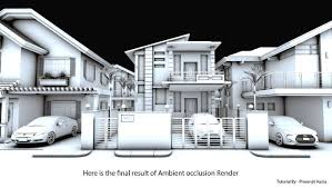 Vray Interior Rendering Tutorial Sketchup Texture Tutorial Ambient Occlusion Vray 2 0 For Sketchup