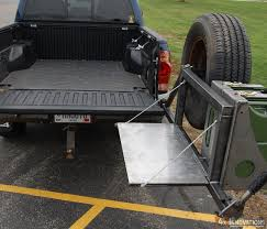 2007 toyota tacoma rear bumper swing out tire fuel carrier tacoma upgrades tired