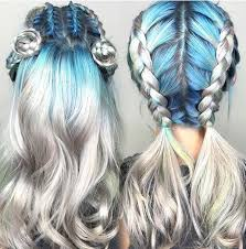 hairstyles when top 15 colorful hairstyles when hairstyle meets color blue
