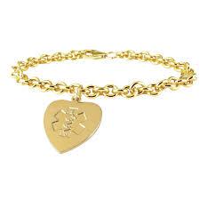 medical id bracelets for women medical id charm bracelets jewelry flatheadlake3on3