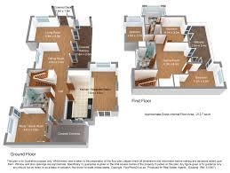 enhanced 3d floor plan modelling 4 bedroom 212 sq m create