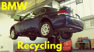 bmw car maker bmw cars recycling