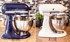 painting your kitchenaid mixer