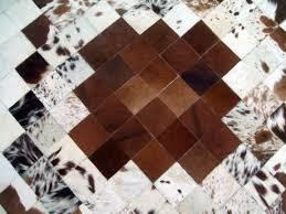 Patchwork Cowhide Rug Flooring Cowhide Patchwork Rug Animal Skin Rugs