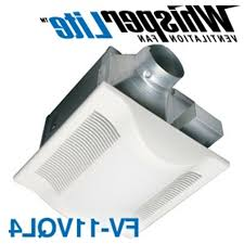 panasonic bathroom light fan combo whisperwarm 110 cfm ceiling