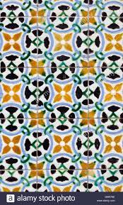 vintage spanish tiles background stock photo royalty free image