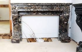 fireplace mantel pieces an early 18th c french baroque carved
