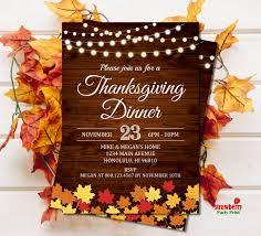 thanksgiving invitations thanksgiving dinner invitation