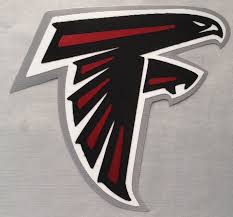 huge atlanta falcons iron on patch