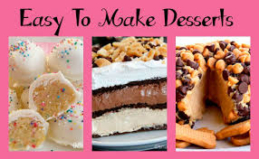 easy to make desserts no bake recipes that you will