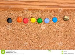 Pin Board Cork Pinboard Stock Photos Image 4528543