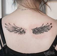 56 best wing tattoos images on pinterest woodwork black tattoos