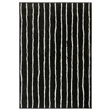 Black White Rugs Modern by How To Design Black And White Ikea Rug For Round Rugs Modern Area