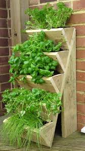 Herb Garden Pot Ideas Innovative Herb Outdoor Garden Planters Offer Light Wooden