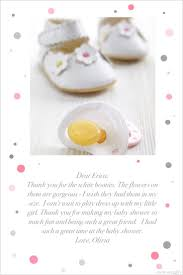 Thank You Cards For Baby Shower Gifts - 17 best baby shower thank you cards and notes images on pinterest