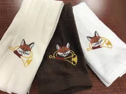 fox horn fingertip towels home