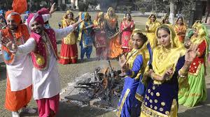in pics glimpses of lohri celebrations in punjab cities photos