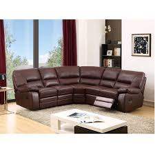 Brown Leather Reclining Sofa by Best 25 Reclining Sectional Sofas Ideas On Pinterest Reclining