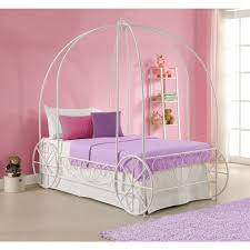 dhp princess carriage twin metal bed free shipping today