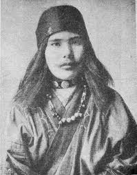 ainu people blue eyes