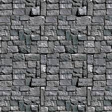 amazon com stone wall backdrop party accessory 1 count 1 pkg