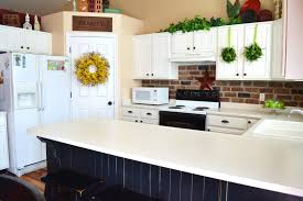 Brick Kitchen Backsplash by Kitchen Great Ideas For French Provincial Kitchen Design Using