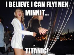 Titanic Door Meme - i believe i can fly nek minnit titanic misc quickmeme