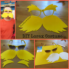 Dr Seuss Family Halloween Costumes by Diy Lorax Costume Diy Costumes Lorax And Costumes
