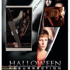 halloween resurrection michael myers stunt knife display 电影