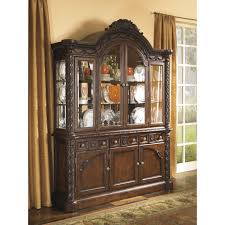 dining room china hutch signature design by ashley north shore dining room buffet and