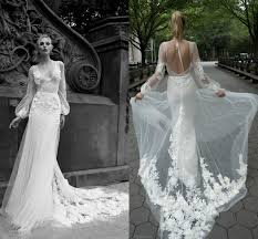 wedding dress overlay 2016 wedding dresses with illusion bishop sleeve v neck