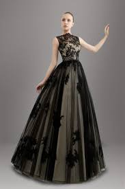 discount stunning 2016 popular black wedding dresses high neck