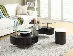 coffee table hokku designs 5 piece verano coffee table ottoman set