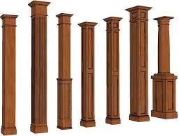 Decorative Wood Post Best 25 Square Columns Ideas On Pinterest Columns Front Porch