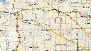 Map Of Troy Michigan by Portion Of Eastbound I 696 In Oakland County Will Be Closed