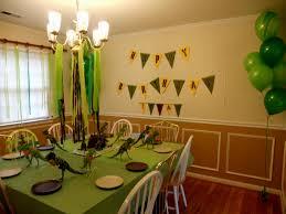 dinosaur table decoration ideas decorating of