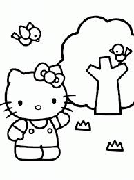 hello kitty coloring pages you can print cartoon coloring pages