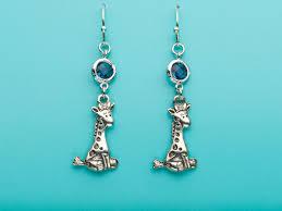 giraffe earrings giraffe earrings giraffe earrings sapphire