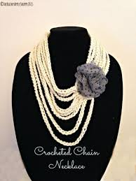 crochet jewelry necklace images Chain necklace crochet jewelry jewelry in handmade women 39 s fas jpg