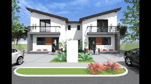 Modern Duplex House Plans Beauty Home Design Floor And Designs