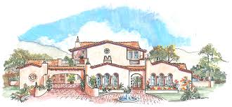 adobe style house plans plans plan detail