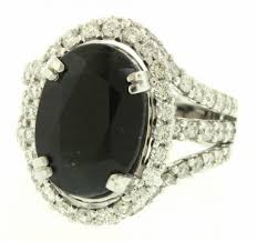 real stone rings images Cocktail rings online 1 50 ct real black stone gold jpg&a