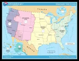 us map divided by time zones if the usa was divided into 3 regions east central and west