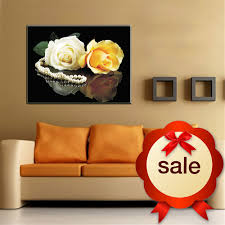 Home Decor Paintings For Sale Online Get Cheap Blue Rose Art Aliexpress Com Alibaba Group