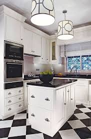 black and white tile kitchen ideas dazzling rooms featuring black and white traditional home