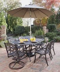 arlington house jackson oval patio dining table patio furniture wrought iron dining sets dayri me