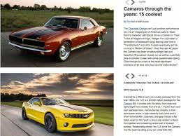 camaro the years 15 coolest camaros through the years by msn auto camaro zl1